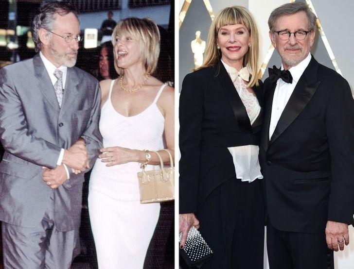 7. Steven Spielberg i Kate Capshaw — 29 lat wspólnie