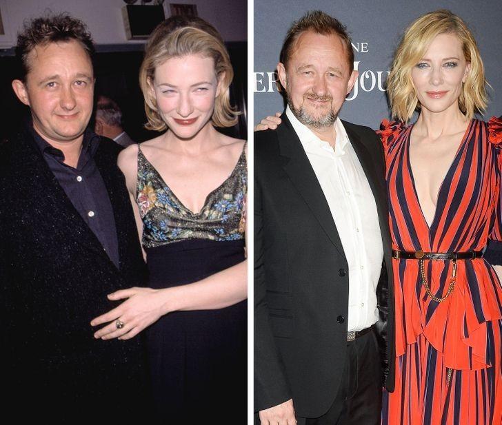 10. Cate Blanchett i Andrew Upton — 23 lata wspólnie