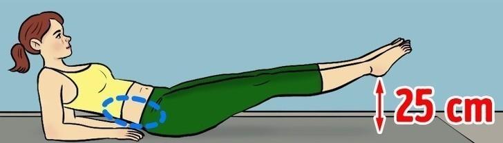 8. Unoszenie nóg