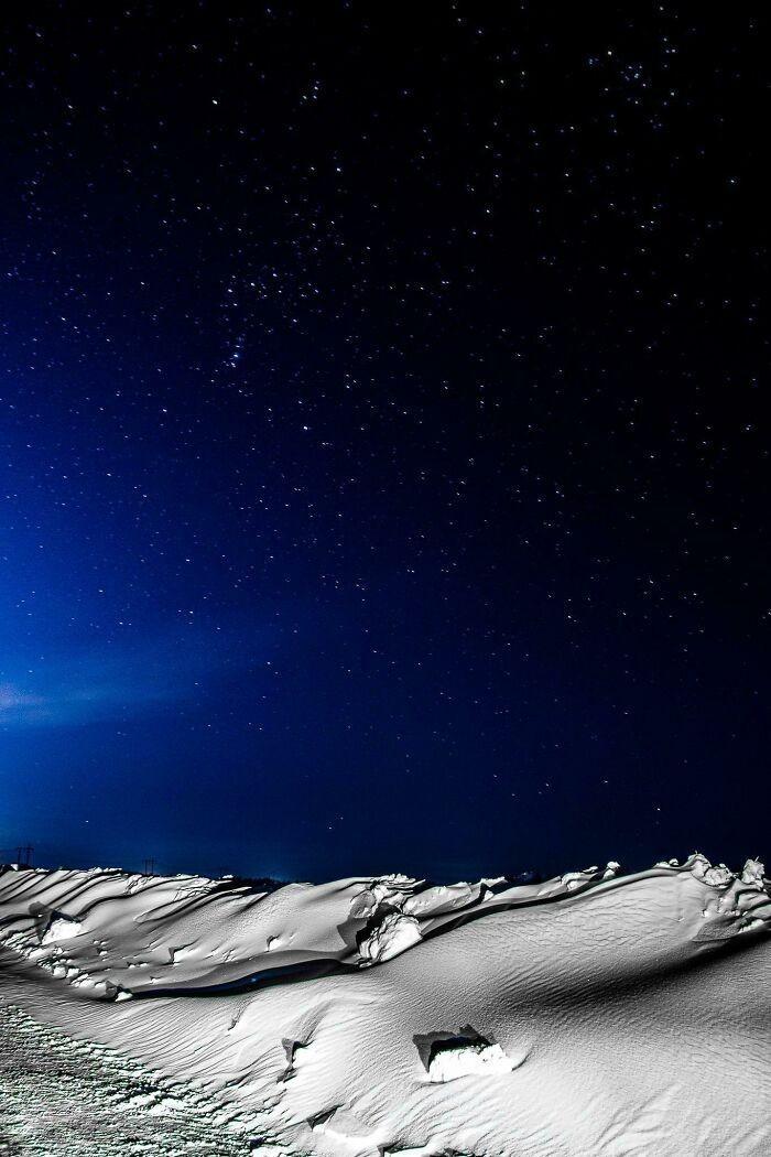 """""""Zrobiłem zdjęcie, które przypomina powierzchnię Księżyca."""""""