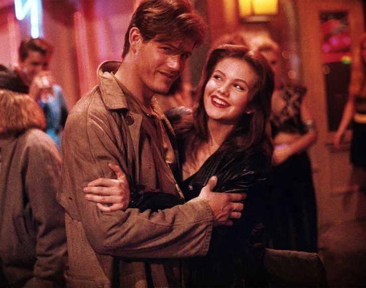 "9. Michael Paré i Diane Lane (Tom Cody i Ellen Aim, ""Ulice w ogniu"")"