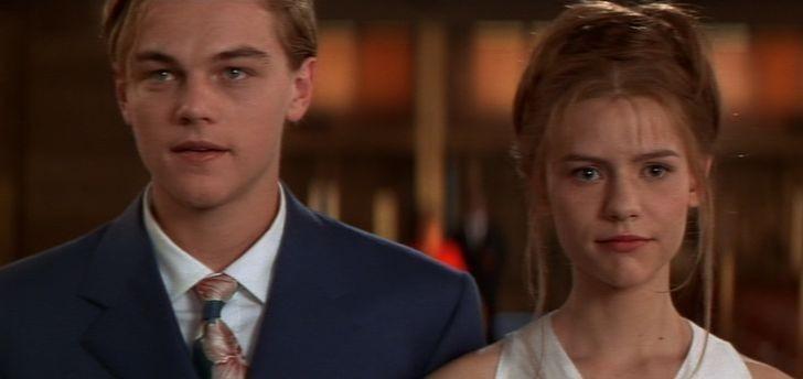 """10. Leonardo DiCaprio i Claire Danes (Romeo i Julia"""")"""