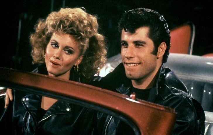 """3. John Travolta i Olivia Newton-John (Danny i Sandy, """"Grease"""")"""