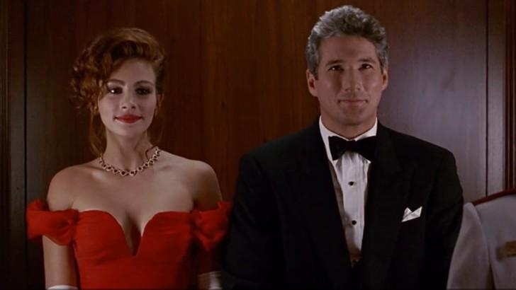 "5. Richard Gere i Julia Roberts (Edward Lewis i Vivian Ward, ""Pretty woman"")"