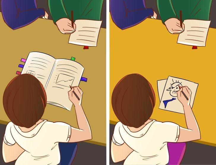 10. Ludzie, którzy podczas spotkania robią notatki i ci, którzy tylko bazgrzą w notesie