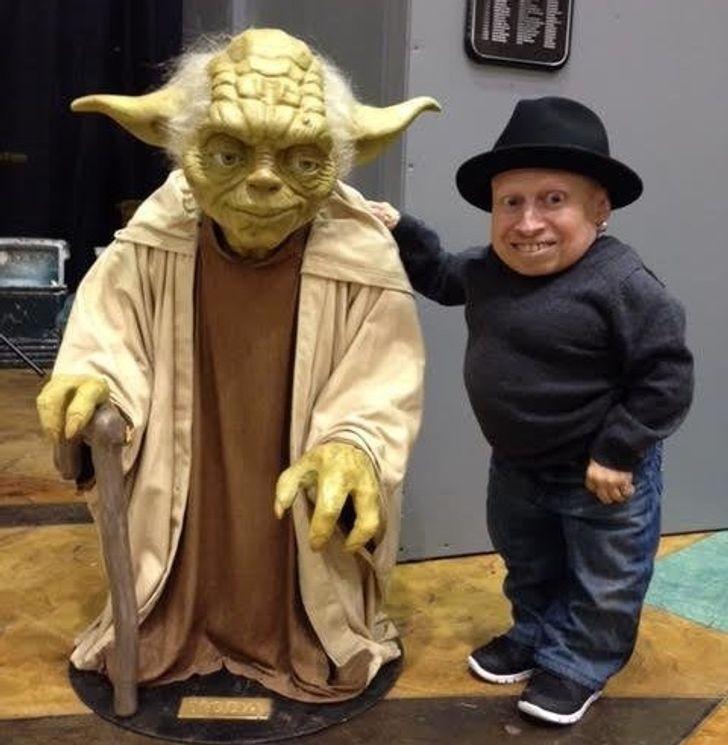 """""""Nawet Yoda jest ode mnie wyższy."""""""