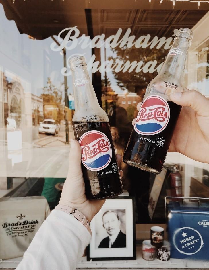 1. Pepsi, napój na niestrawność