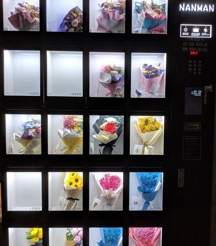 ...i kwiatami