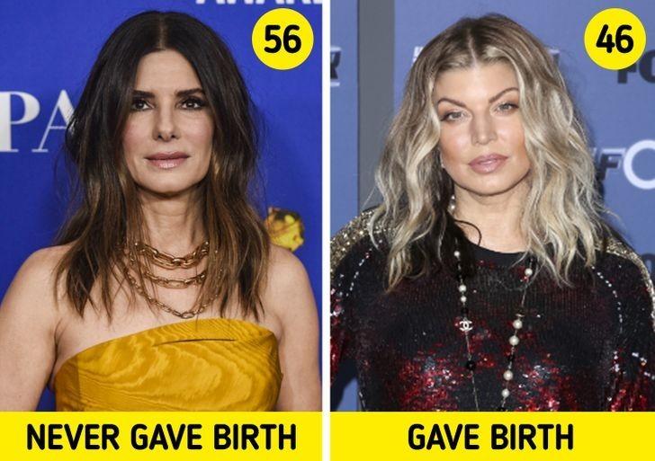 Kobiety, które urodziły dziecko, starzeją się szybciej.