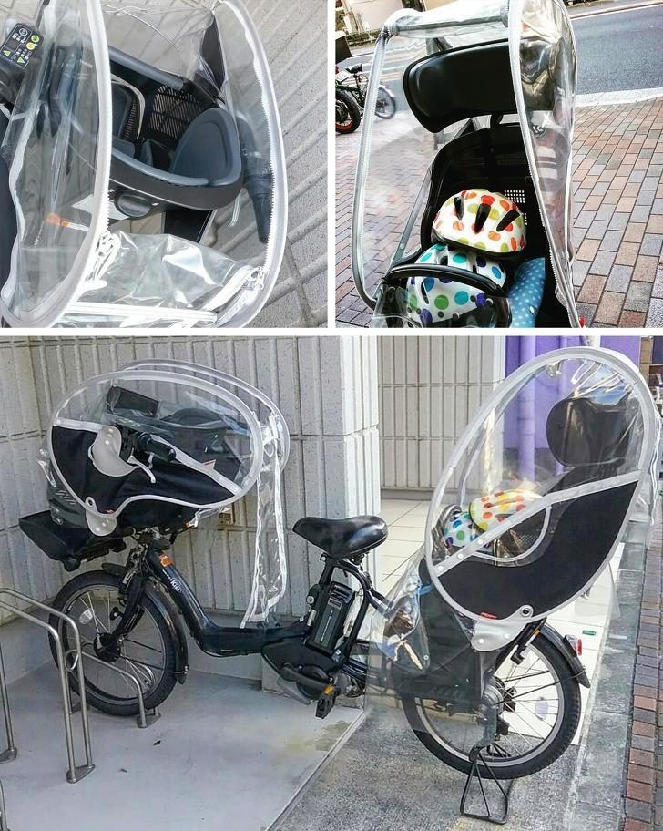 6. Rowery dla rodzica i dwójki dzieci. Jeśli nie posiadasz samochodu, możesz poruszać się w taki sposób.