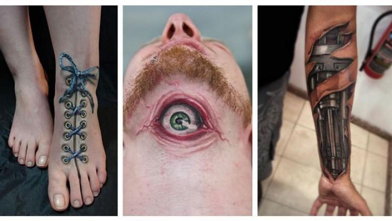 20 Hiperrealistycznych Dzieł Sztuki Trudno Uwierzyć że To Tatuaże