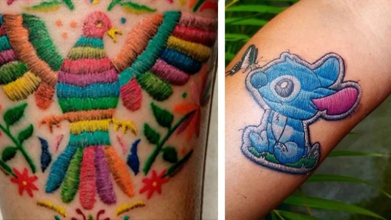 Nie Miałam Pojęcia że Istnieją Haftowane Tatuaże Okazuje