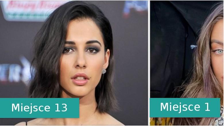 Oto 20 kobiet wyróżnionych w rankingu najładniejszych twarzy roku 2020